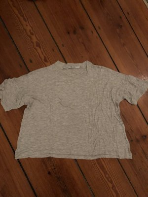 Alexander Wang T-Shirt silver-colored