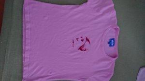 Alprausch T-shirt rose