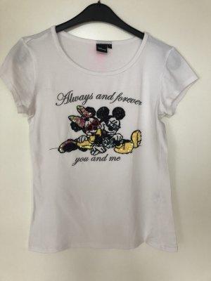 T-shirt Größe M fällt aus wie S Disney Mickey und Minnie