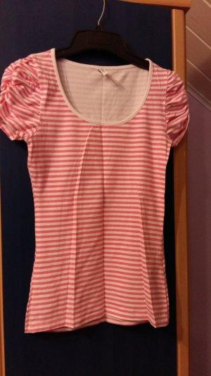 T.Shirt Größe S rosa/weiß