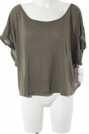 T-Shirt grüngrau Casual-Look