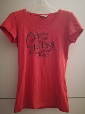 Guess T-Shirt bright red