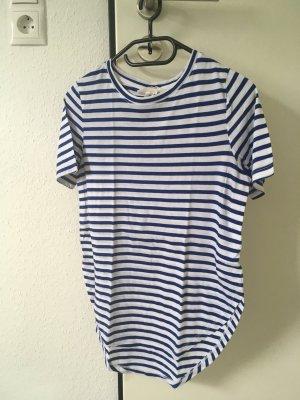 T-Shirt H&M blau/weiß gestreift Gr. XS