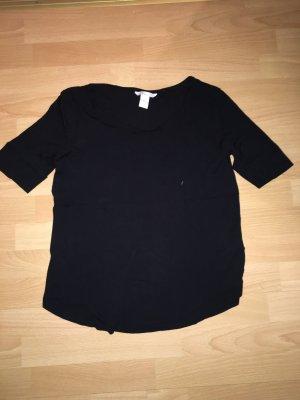 T-Shirt H&M schwarz in Größe S