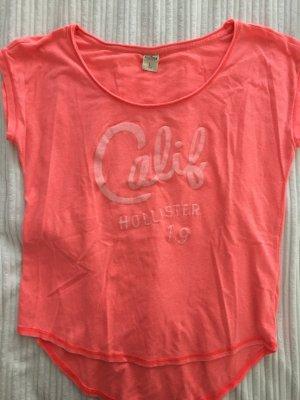 T-Shirt Hollister corall