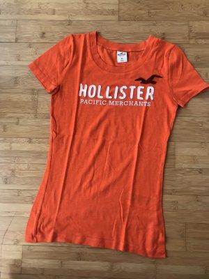 T-Shirt, HOLLISTER, Orange, Gr. XS