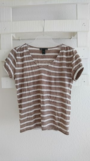 T-Shirt I Mango I gestreift I Leinen I 36 I S
