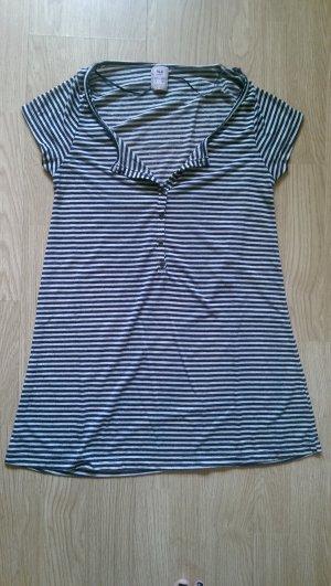 T-Shirt im maritimen Streifenlook von Pull & Bear