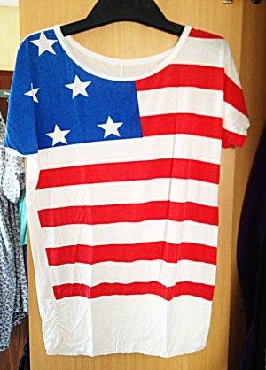 T-Shirt im U.S.A. Look