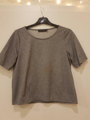 T-Shirt in Blau-Grau Melliert