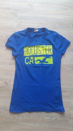 T-Shirt in blau   Hollister   Gr. M