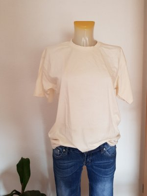 B&C collection T-shirt bianco sporco-crema
