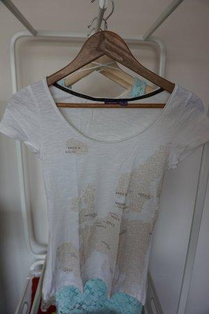 T-Shirt in Creme von Mexx Gr. XS