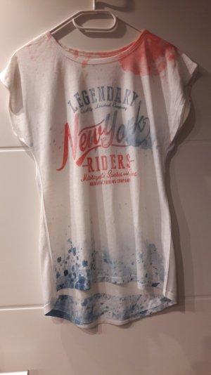 T-Shirt in der Farbe weiß