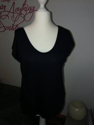 T-Shirt in dunkelblau der Marke Pieces in der Größe XL
