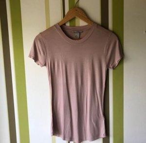 T-Shirt in einem Altrosé von H&M