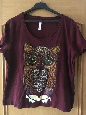 T-Shirt in Eule
