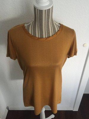 T-Shirt in gold von Esprit