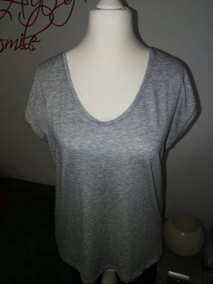 T-Shirt in grau der Marke Pieces und der Größe XL