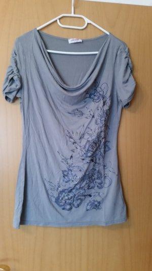 T-shirt in Grau. Gr. 38