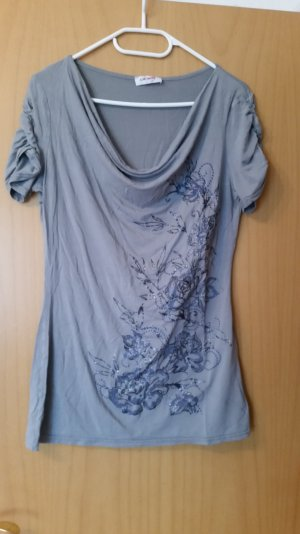 T-shirt in Grau. Gr. 38