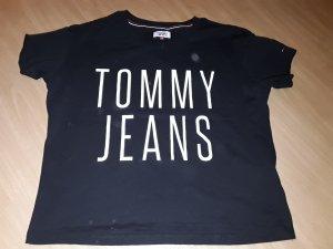 Tommy Hilfiger T-shirt court noir-blanc