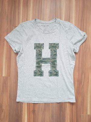 T-Shirt in hell grau von Tommy Hilfiger Gr. S