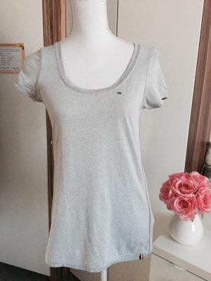 T-Shirt in hellgrau von Hilfiger Denim XS