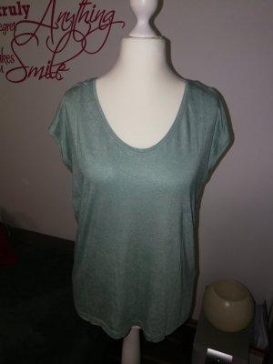 T-Shirt in mintgrün der Marke Pieces in der Größe XL