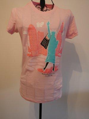 T-Shirt in Pink aus New York