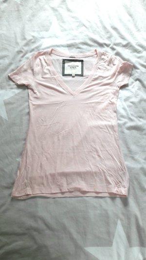 T-Shirt in rosa von Abercrombie & Fitch