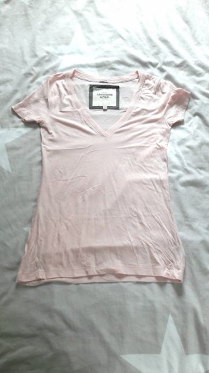T-Shirt in rosa von Abercrombie & Fitch