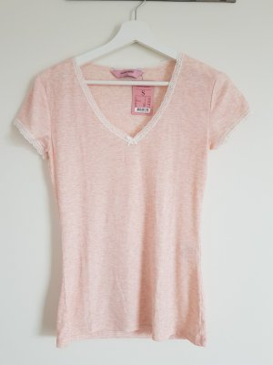 T-shirt in Rosé