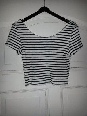 T-Shirt in schwarz/weiß