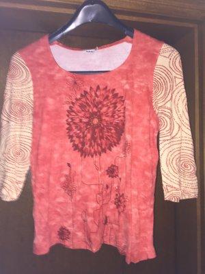 T-Shirt in tollen Farben mit Glitzersteinen
