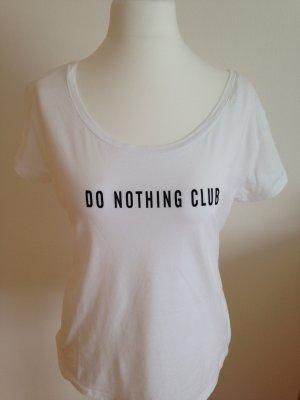 T-Shirt, in Weiß, Gr.42