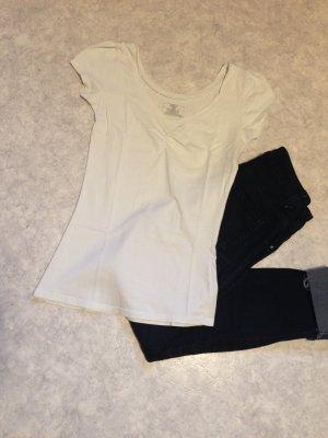 T-Shirt in weiß Größe 34