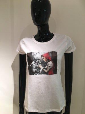 T-Shirt in weiß, Neu S
