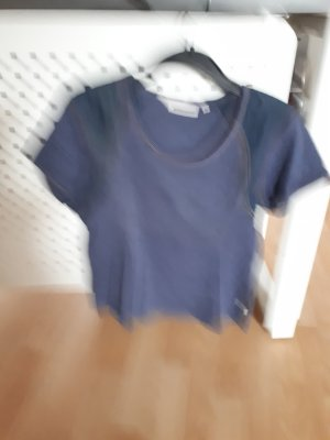 Another A T-shirt blu Cotone