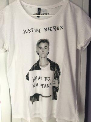 T-Shirt Justin Bieber H&M