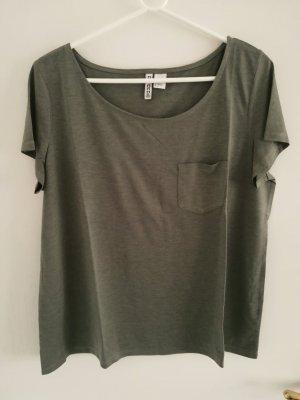 H&M Divided T-shirt kaki