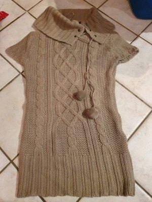 C&A Abito maglione marrone chiaro