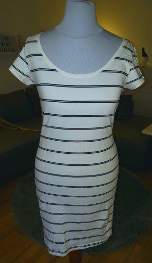 T-Shirt Kleid in Streifenoptik von H&M