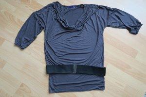 T-Shirt Kleid - langes Shirt von Mexx grau S