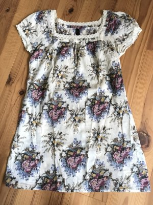 T-Shirt Kleid mit Blumenprint