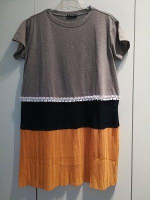 T-shirt Kleid Plissee Shein Gr S 36