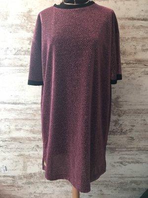 Urban Outfitters Vestido estilo camisa púrpura