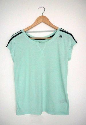 T-Shirt, kurzärmlig, hellgrün, Adidas