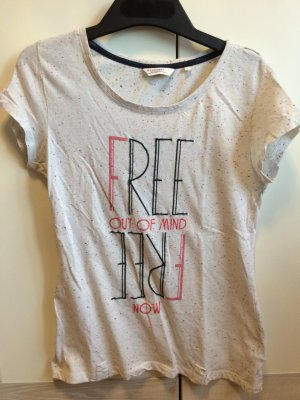 T-Shirt L BROADWAY mit Aufdruck