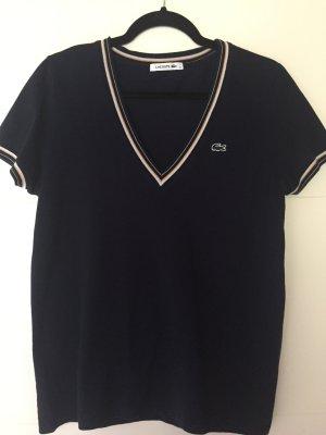 T-Shirt LACOSTE aus Piqué